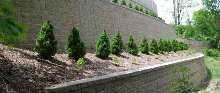 segmental retaining walls making the grade - Segmental Retaining Wall Design