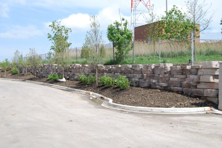 Segmental Retaining Wall U2013 Carpentersville, IL