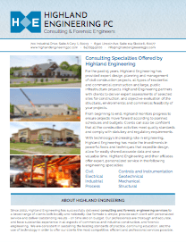 Highland Engineering Consulting Services