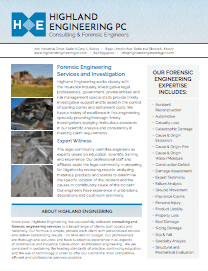 Highland Engineering Forensic Services