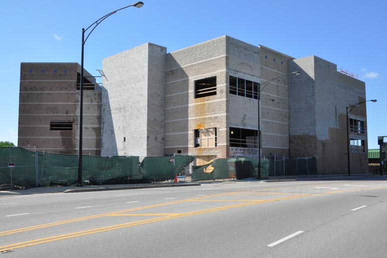 Self storage conversion from theater building, Chicago, IL - Highland Engineering